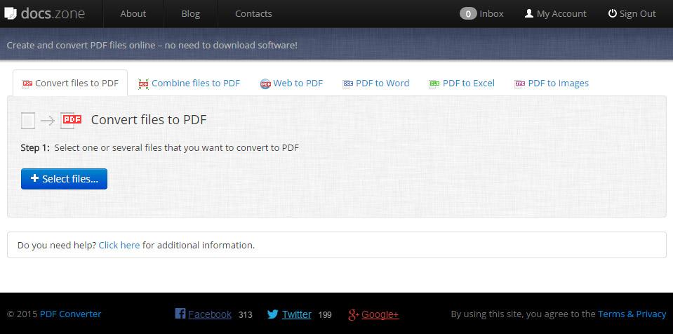 Docs.Zone PDF Converter