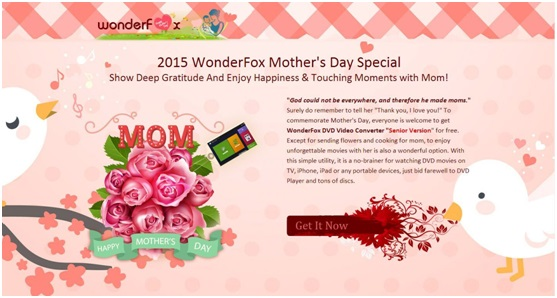 2015 WonderFox Mother's Day Special