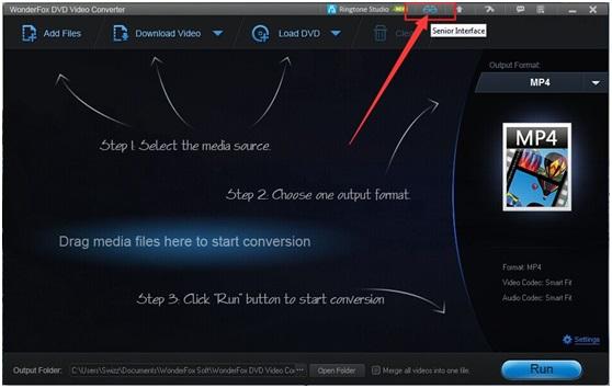 Tutorial for WonderFox DVD Video Converter - Senior Version