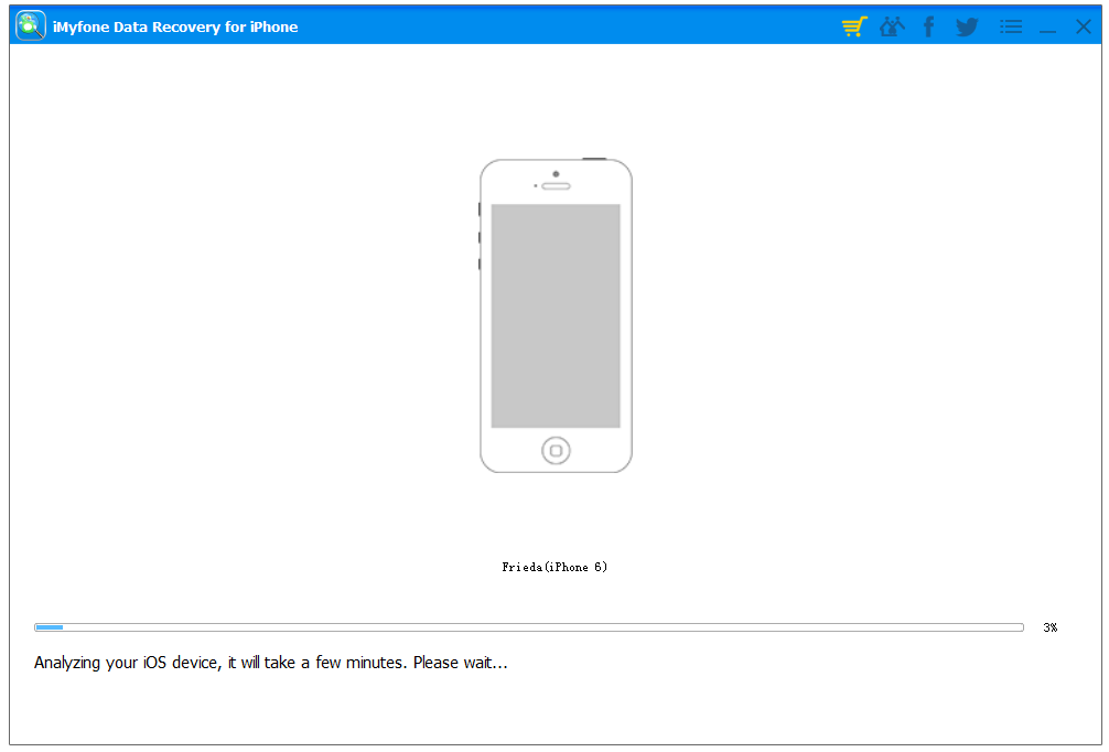 iMyfone Data Recovery for iPhone 4