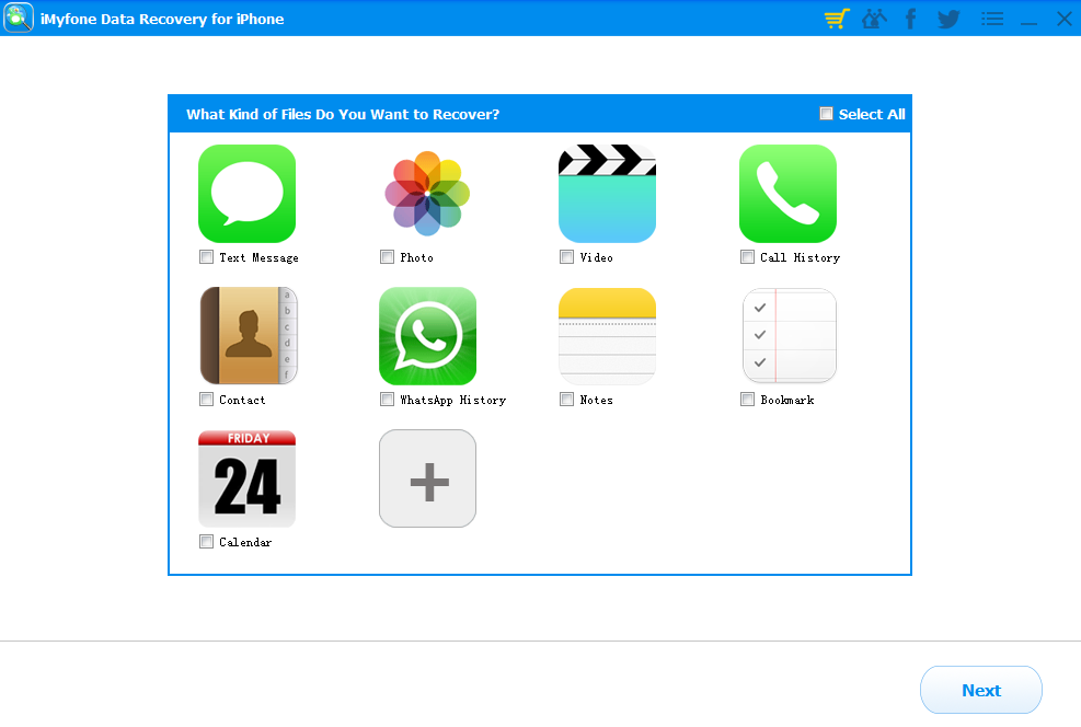 iMyfone Data Recovery for iPhone