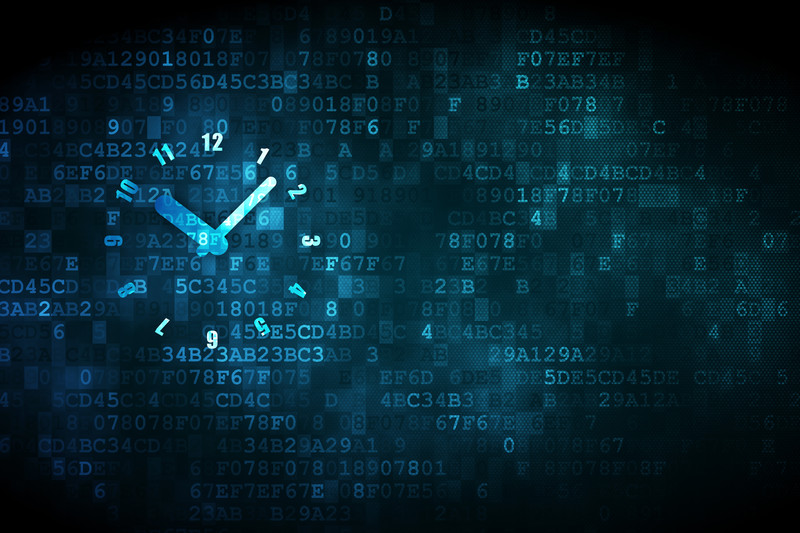 business needs a biometric time clock