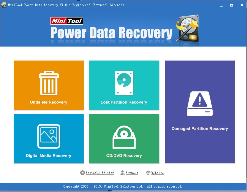 Best Data Recovery Software - MiniTool Power Data Recovery 7.0 Personal Review
